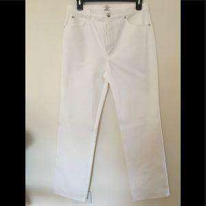 COPY - Escada Ivory High Rise Classic Denim Jeans